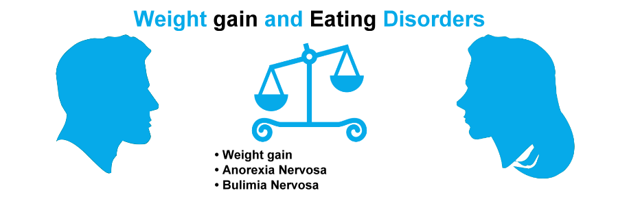 Weight gain and Eating Disorders